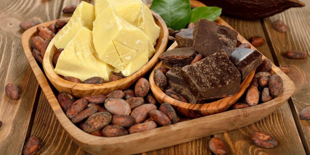 Какао терте